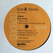LP - Dolly Parton - Jolene - Orange Labels