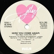 7'' - Dolly Parton - Here You Come Again
