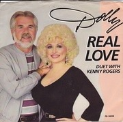7'' - Dolly Parton Duet With Kenny Rogers - Real Love