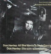 LP - Don Henley - All She Wants To Do Is Dance