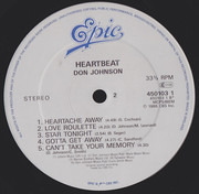 LP - Don Johnson - Heartbeat - Gatefold