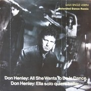 12inch Vinyl Single - Don Henley - All She Wants To Do Is Dance