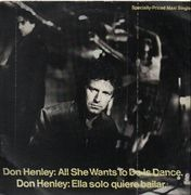 12'' - Don Henley - All She Wants To Do Is Dance