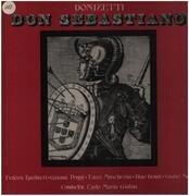 LP-Box - Donizetti - Don Sebastiano - Private record  / textured Hardcoverbox + booklet