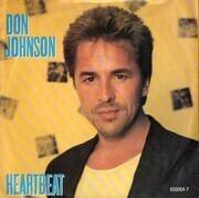 7'' - Don Johnson - Heartbeat