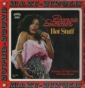 12inch Vinyl Single - Donna Summer - Hot Stuff