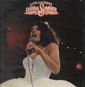 Double LP - Donna Summer - Live And More