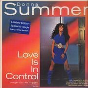 12'' - Donna Summer - Love Is In Control (Finger On The Trigger) - Promo