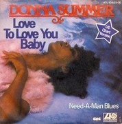 7'' - Donna Summer - Love To Love You Baby