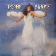LP - Donna Summer - A Love Trilogy - Santa Maria Pressing