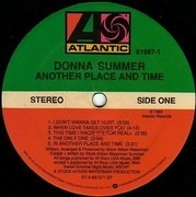 LP - Donna Summer - Another Place And Time - Specialty Pressing
