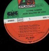 LP - Donna Summer - Four Seasons Of Love - incl. calendar