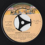 7inch Vinyl Single - Donna Summer - Hot Stuff