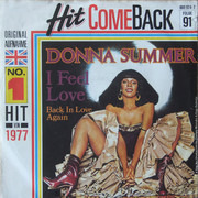 7inch Vinyl Single - Donna Summer - I Feel Love