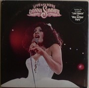 Double LP - Donna Summer - Live And More - Gatefold - Shape Sleeve