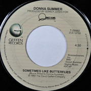 7inch Vinyl Single - Donna Summer - Love Is In Control (Finger On The Trigger) - Jacksonville Pressing