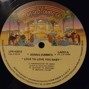 LP - Donna Summer - Love To Love You Baby