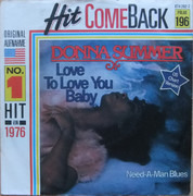 7inch Vinyl Single - Donna Summer - Love To Love You Baby
