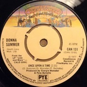 7'' - Donna Summer - MacArthur Park - 4-Prong Push-Out