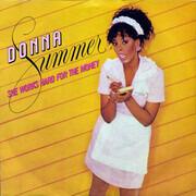 7inch Vinyl Single - Donna Summer - She Works Hard For The Money