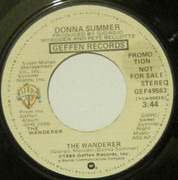 7inch Vinyl Single - Donna Summer - The Wanderer