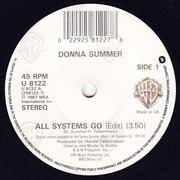 7'' - Donna Summer - All Systems Go