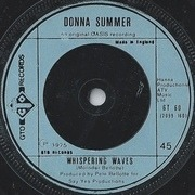 7'' - Donna Summer - Could It Be Magic - Steel-blue injection