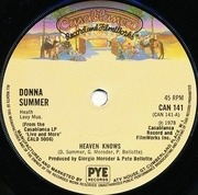 7'' - Donna Summer - Heaven Knows
