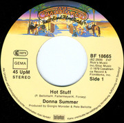 7'' - Donna Summer - Hot Stuff