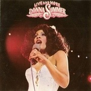 Double LP - Donna Summer - Live And More - triple die-cut gatefold sleeve