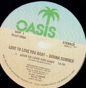 LP - Donna Summer - Love To Love You Baby - ORIGINAL, MFG. AND DIST. BY