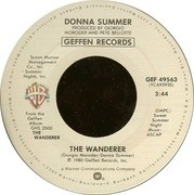7'' - Donna Summer - The Wanderer