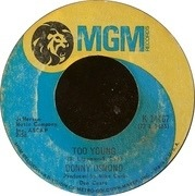 7'' - Donny Osmond - Too Young