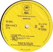LP - Donovan - Barabajagal