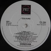 Double LP - Donovan - Colours