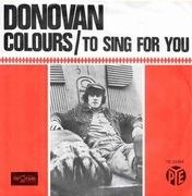 7'' - Donovan - Colours