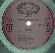 LP - Donovan - Colours