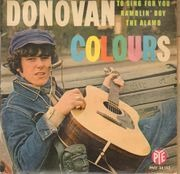 7inch Vinyl Single - Donovan - Colours - Original French EP