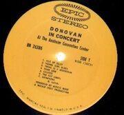LP - Donovan - Donovan In Concert