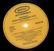LP - Donovan - Donovan's Greatest Hits
