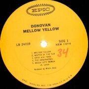 LP - Donovan - Mellow Yellow