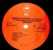 Double LP - Donovan - Sunshine Superman