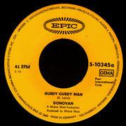 7'' - Donovan - The Hurdy Gurdy Man