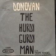 7inch Vinyl Single - Donovan - The Hurdy Gurdy Man