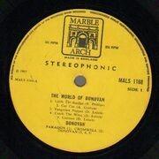 LP - Donovan - The World Of Donovan - 1st UK Stereo
