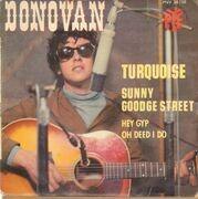 7inch Vinyl Single - Donovan - Turquoise - Original French EP