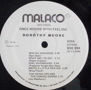 LP - Dorothy Moore - Once Moore With Feeling