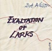 CD - Dot Allison - Exaltation Of Larks