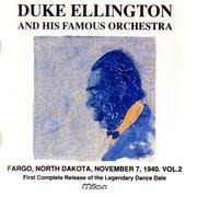 CD - Duke Ellington And His Orchestra - Farg, North Dakota, November 1, 1940.Vol.2
