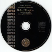 CD - Duke Ellington And His Orchestra Featuring Ben Webster - Duke Ellington At The Hurricane